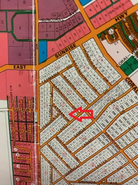 lot 11, block 6, Royal Bahamian Estates